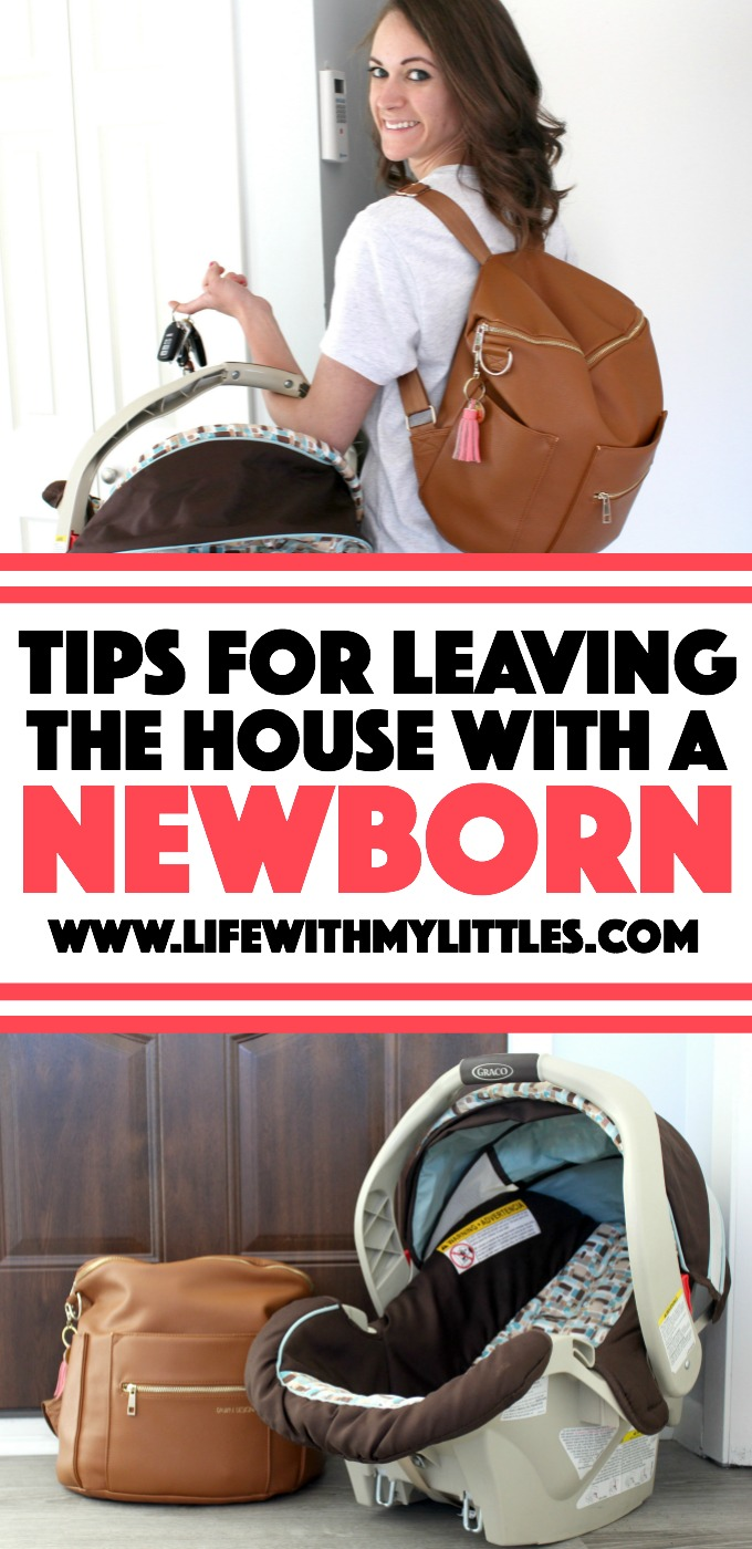 Whether it's your first baby or your third, leaving the house with a newborn is stressful! Here are some helpful ways you can prepare so you can get out of the house and enjoy yourself!