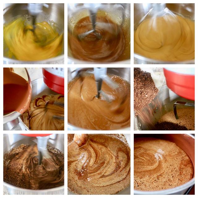Chocolate Coconut Macaroon Cake - 37