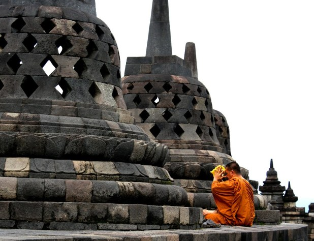 Transporte a Prambanan y Borobudur