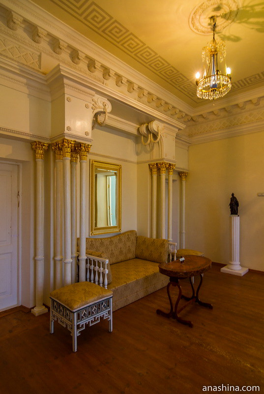 Мраморная спальня, усадьба Гончаровых, Полотняный Завод