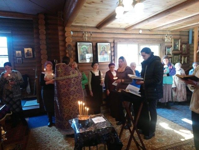 2018 03 25 The sacrament of anointing - Holy Unction. Соборование