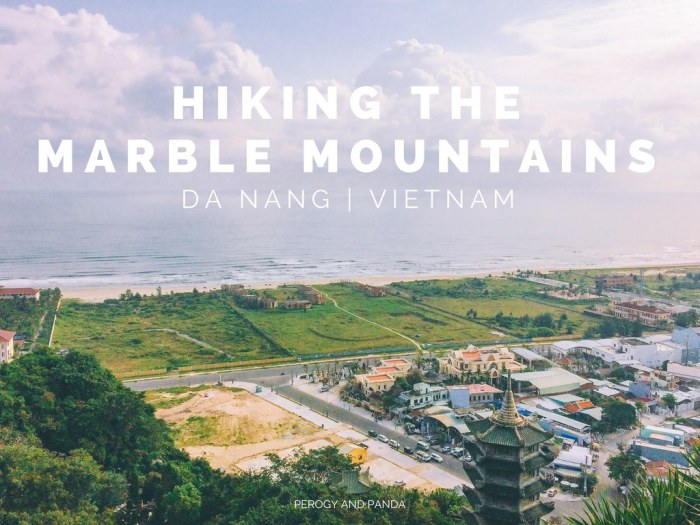 Hiking the Marble Mountains in Da Nang - A quick half day trip from Hoi An Vietnam