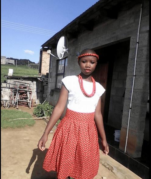 Shweshwe traditional wedding dresses