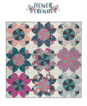 Flower Crowns FREE Quilt Pattern for Flower Child
