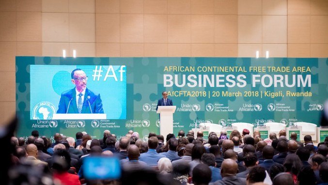 African Continental Free Trade Area / Kigali 20 March 2018
