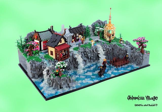 LEGO Shinmizu Village entre Venise et Japon