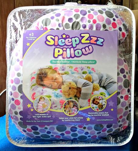 Sleep Zzz Pillow For A Better Sleep