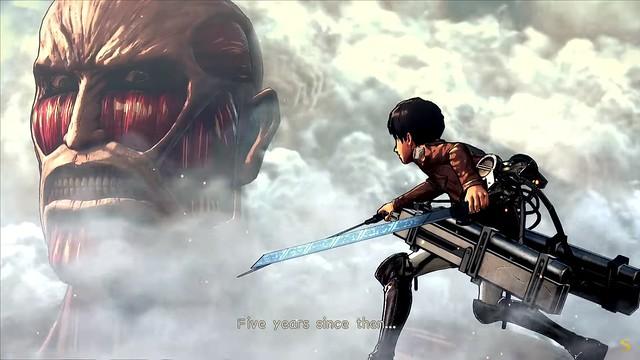 Attack On Titan 2 - Eren Faces Colosal Titan