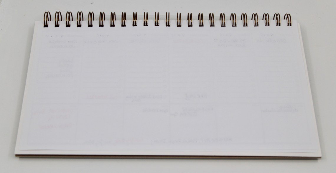 Desk Calendar