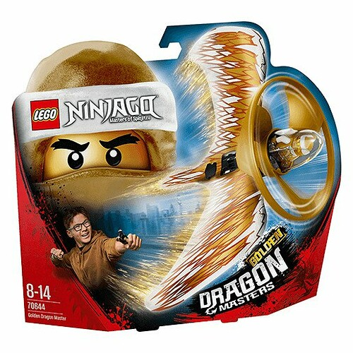70644 - Golden Dragon Master - box