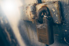 locked in Photo by James Sutton on Unsplash
