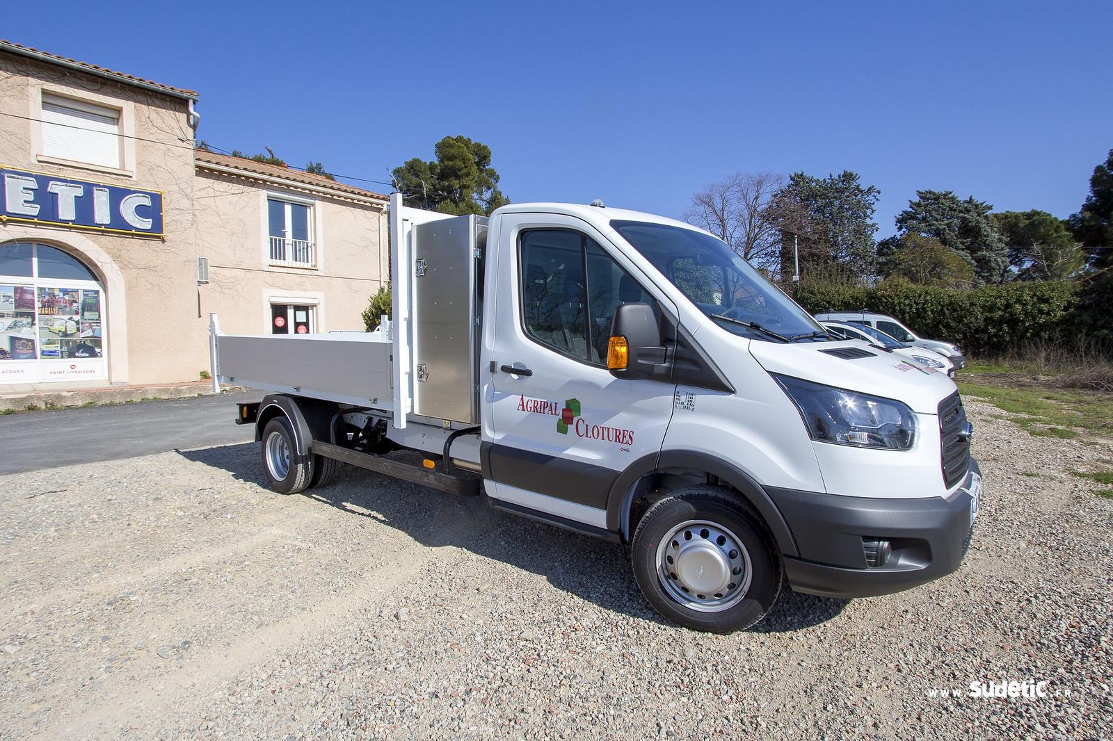 Sudetic deco camion plateau Agripal Clotures-2