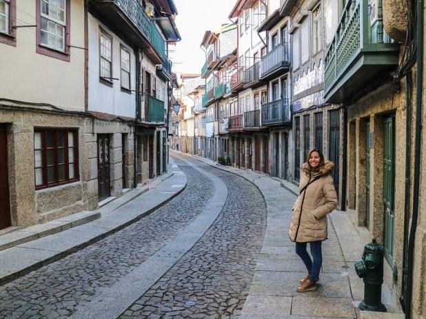 Ruta a pie por Guimarães