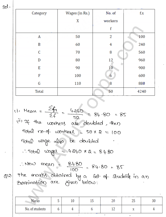 ml-aggarwal-icse-solutions-for-class-10-maths-chapter-23-measures-of-central-tendency-9