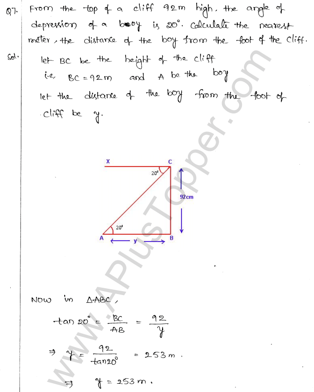 ml-aggarwal-icse-solutions-for-class-10-maths-chapter-21-heights-and-distances-6