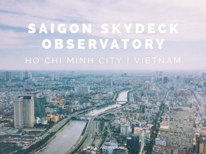 Saigon Skydeck Observatory in Ho Chi Minh City (HCMC) Vietnam