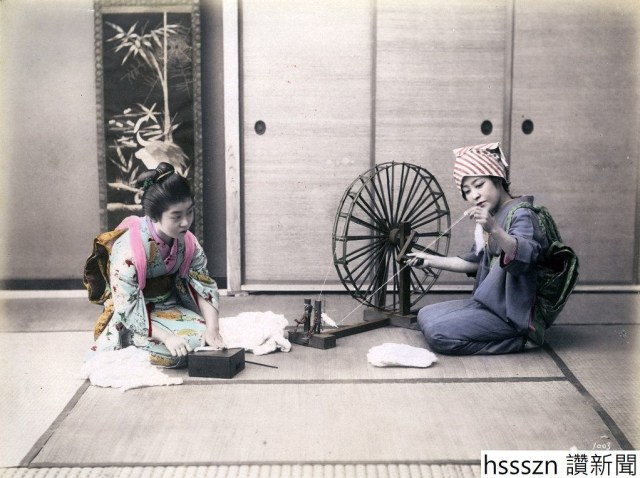 15 Hand-Colored Photos of Japanese Women in the end of 19th Century (1)_1022_763