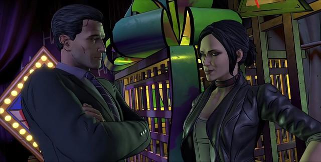 Batman Nepřítel v epizodě 5 - Bruce a Selina