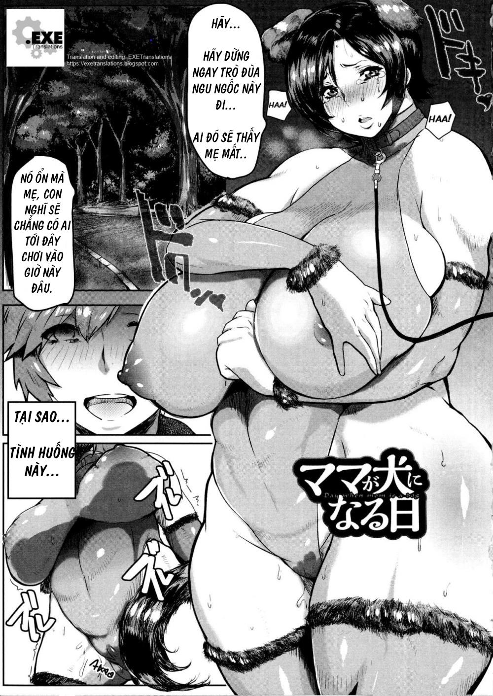 Hình ảnh  trong bài viết Mama Ga Inu Ni Naru Hi