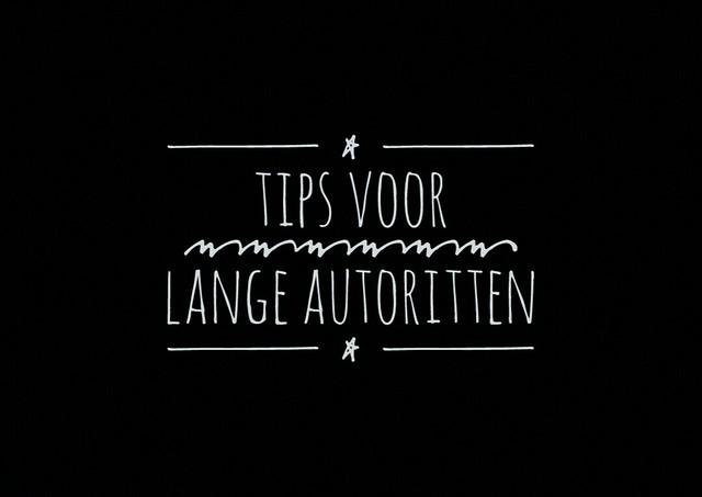 Tips voor lange autorit