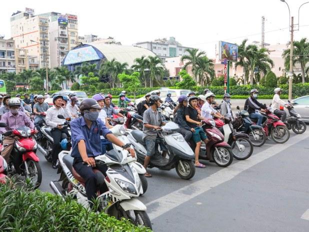 Motos en Vietnam