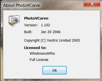 Vectric PhotoVCarve 1.102 full