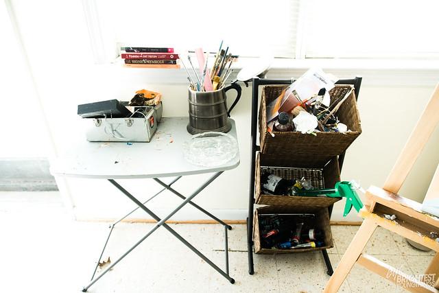 Inside the Artist Studio
