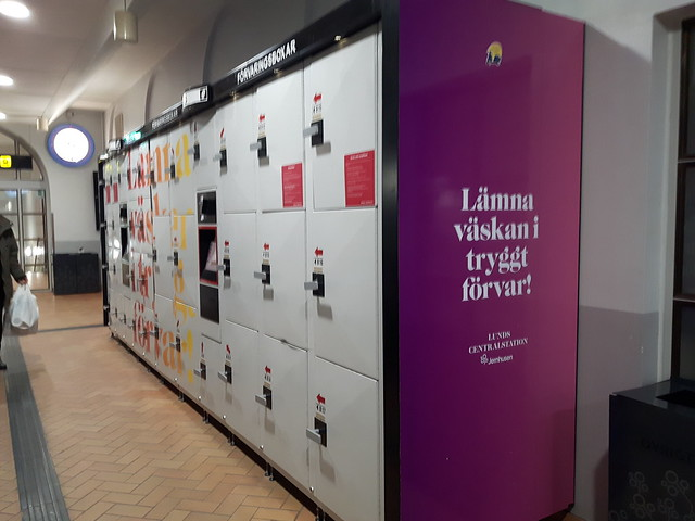 lockers station Lund