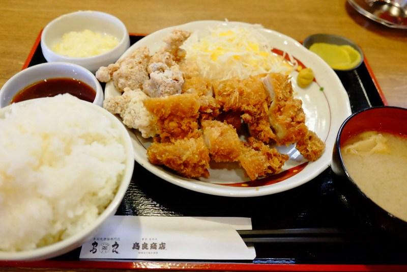 鳥良商店 チキン・チキン定食