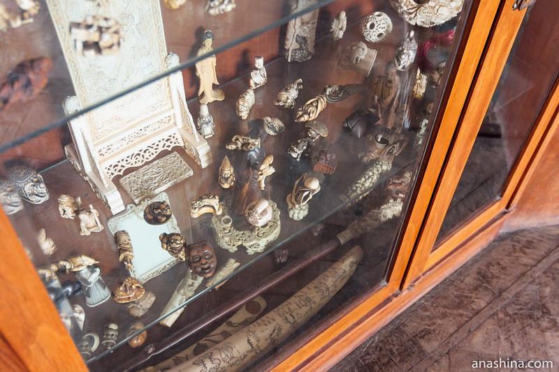 Восточная коллекция Максима Горького, особняк Рябушинского, Москва