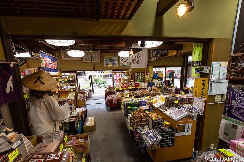 Tienda del restaurante Yasoba-an