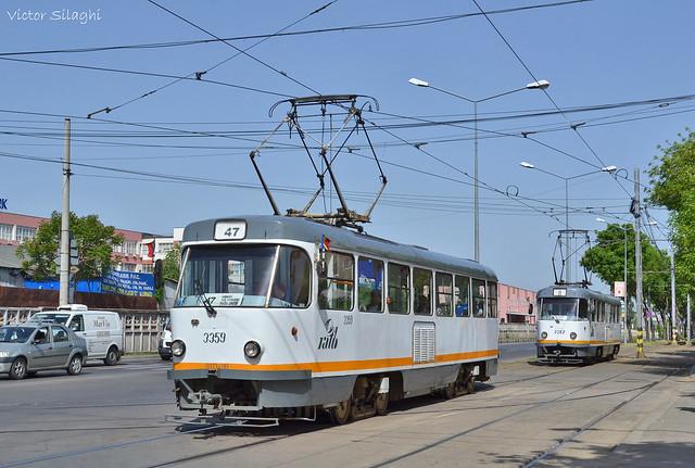 Tatra T4R - 3359 + 3382 - 01.05.2018