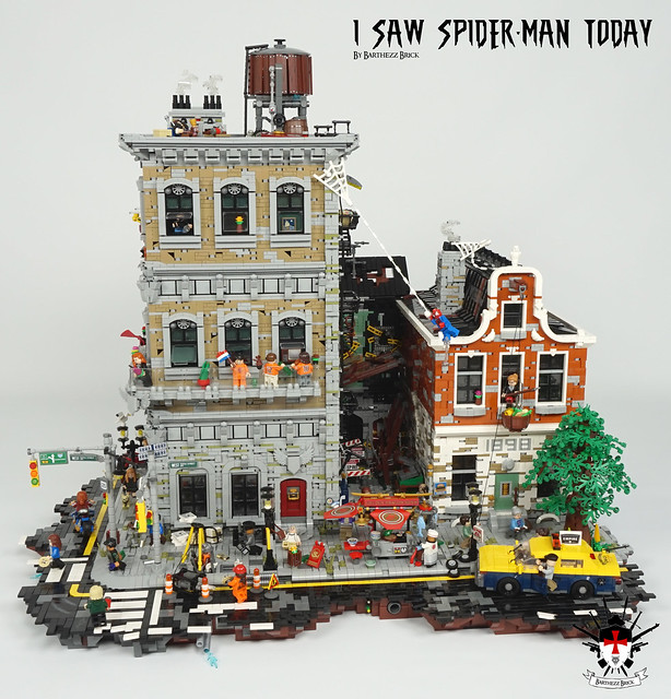 I Saw Spider-Man Today By Barthezz Brick 3