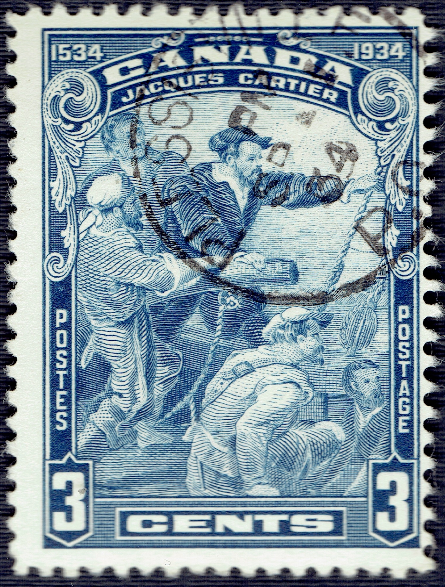 Jacques Cartier S Voyages To Canada A Stamp A Day