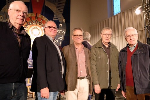 Tonsättare. Lars-Åke Franke-Blom, Anders Flodin, Peter Lindroth, Bengt-Göran Sköld, Rainer Kuisma