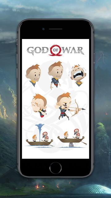 God of War: iMessage Stickers