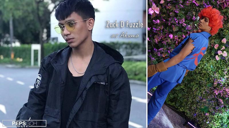 Zack D Fuzzle Cosplay Akuma