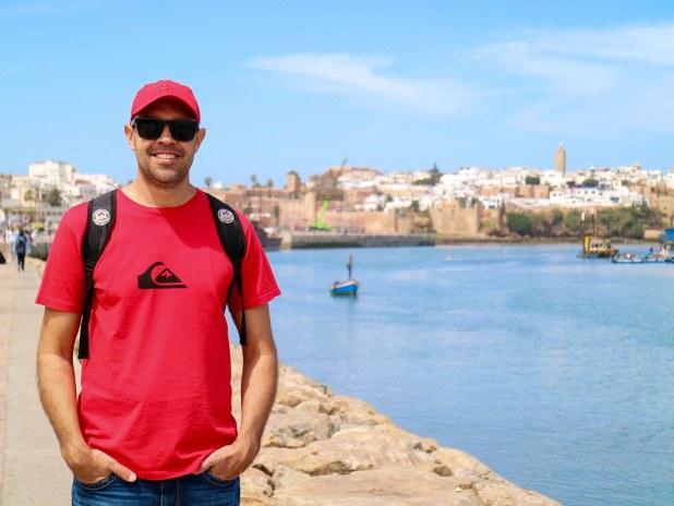 Ruta a pie por Rabat