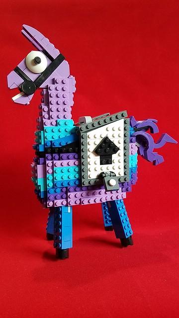 Does This Lego Loot Llama From Fortnite Bring Bricks