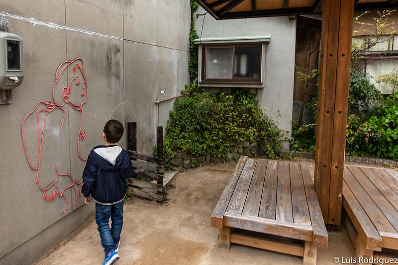 Arte callejero en Naoshima