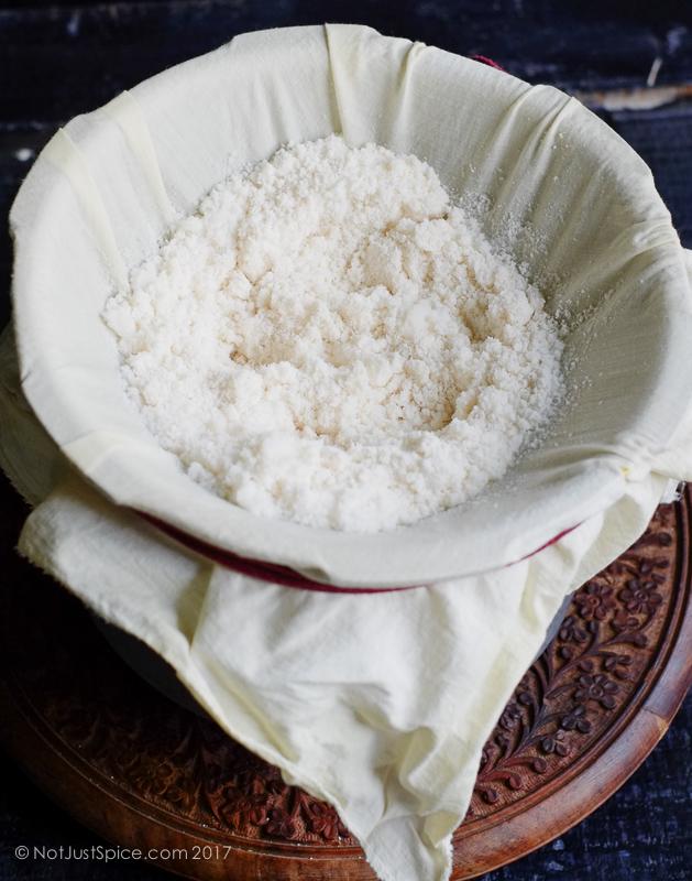 Puttu   Puttu Recipe without Puttu Maker   Arisi Maavu Puttu on notjustspice.com