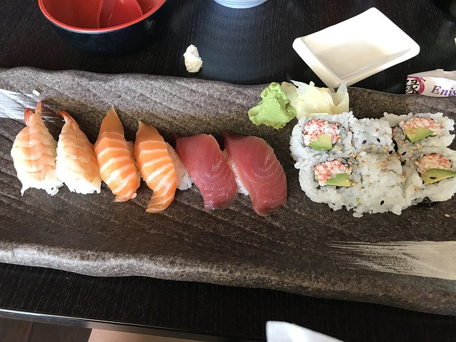 sushi lunch