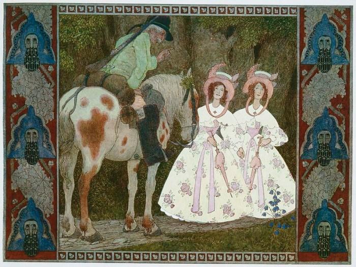 Генрих Лефлер. Взрослые детские иллюстрации.