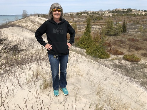 Sandbanks Linda on a dune