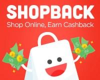 Shop online, earn cashback with ShopBack!