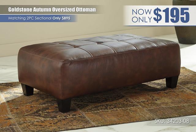 Goldstone Autumn Oversized Ottoman_34203-08