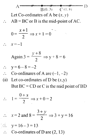 Selina Concise Mathematics Class 10 ICSE Solutions Chapter 13 Section and Mid-Point Formula Ex 13B 8.1