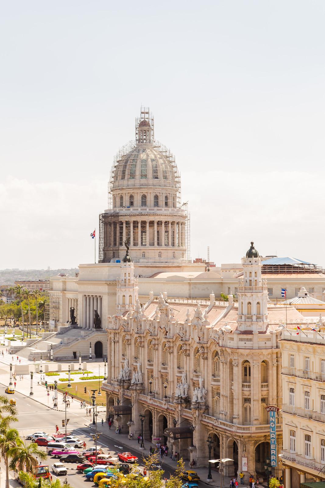 Hotel Inglaterra & El Capitolio