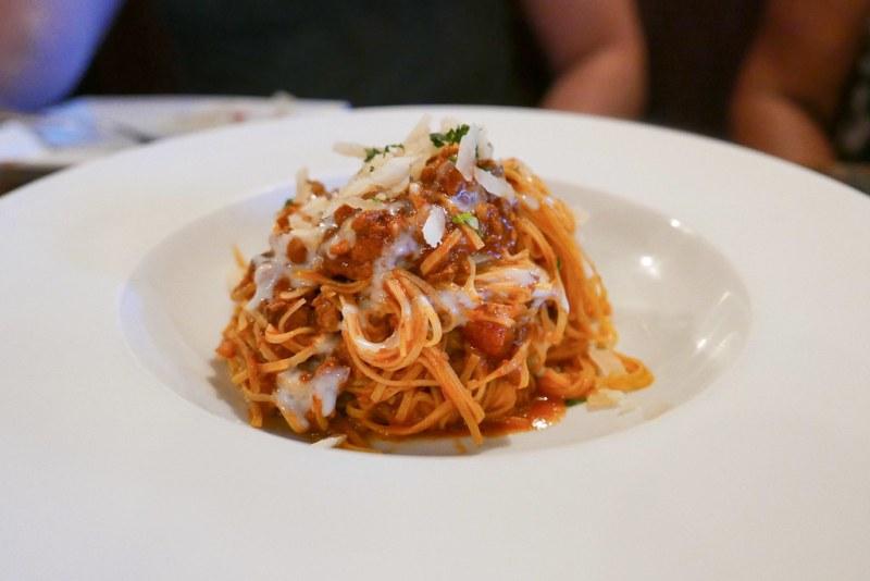 Ragu - House-made tajarin noodles, Northern meat ragu, grana padano
