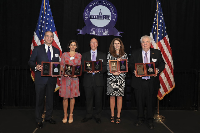 High Point University Athletics Hall of Fame Class of 2018